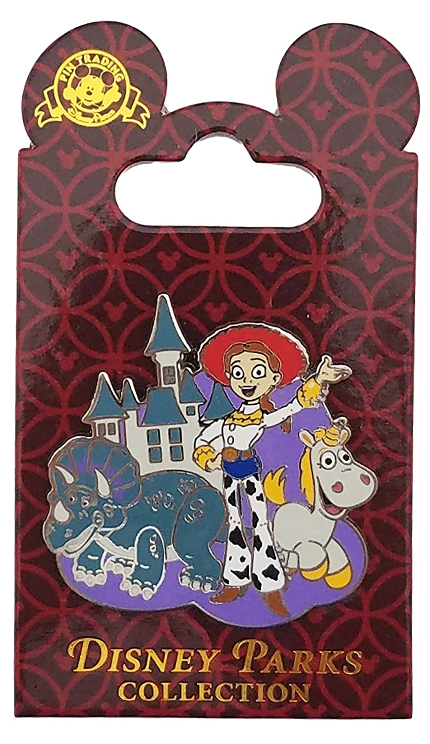 Disney Pin - Toy Story 3 - Jessie with Trixie and Buttercup
