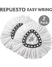 Vileda 163215 2Pack Repuestos Trapeador Microfibra Easy Wring