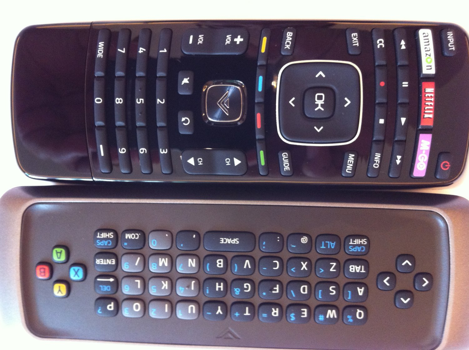 Amazoncom New Smart Tv Remote Control With Qwerty Dual Side