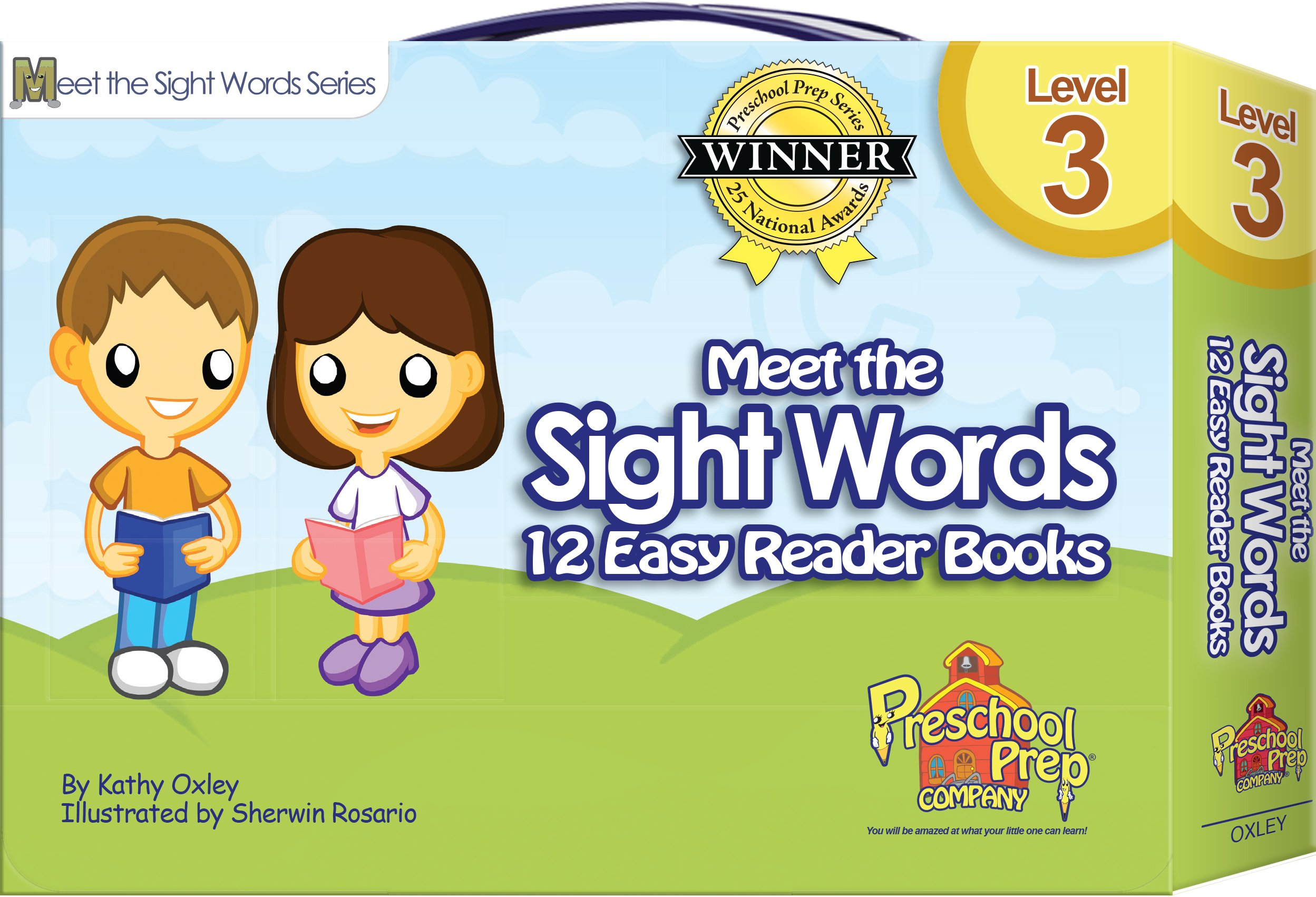 Meet the Sight Words - Level 3 - Easy Reader Books (boxed set of 12 ...