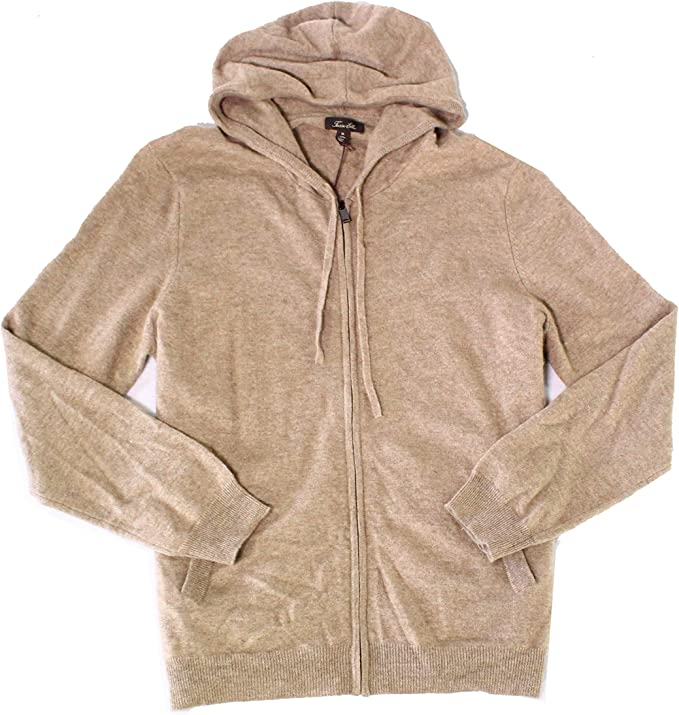 Tasso Elba Mens Zip-Front Supima Cotton Hoodie