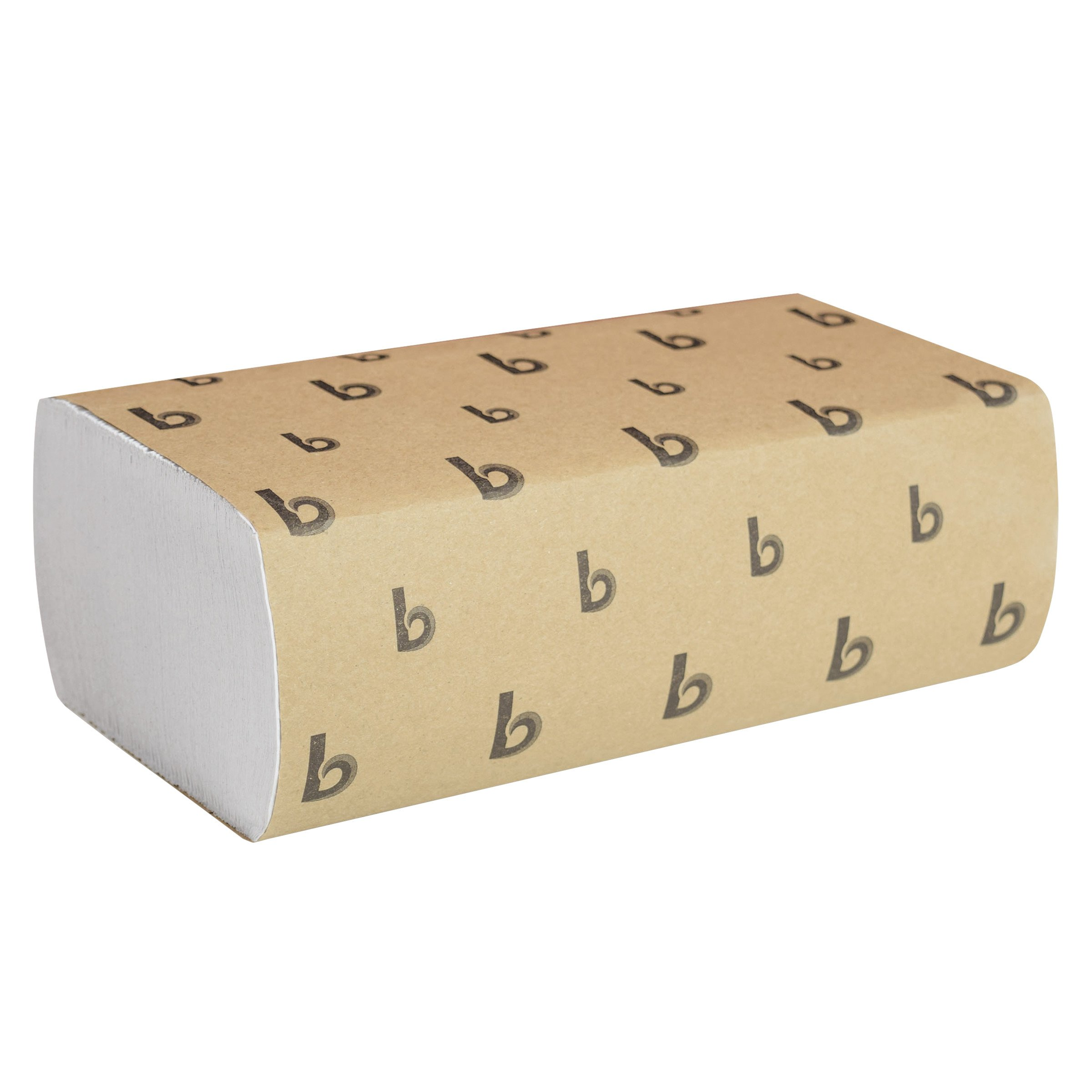 Boardwalk 6200 Multifold Paper Hand Towel 9'' X 9.5'' Bleached White (16 Packs of 250)