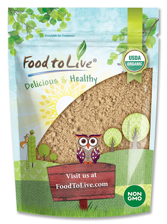Organic Ripe Banana Powder, 8 Ounces - Non-GMO and Raw Whole Fruit Flour, Unsweetened, Unsulfured, Vegan, Kosher, Bulk Dried Platano, Rich in Dietary Fiber, Potassium, and Copper