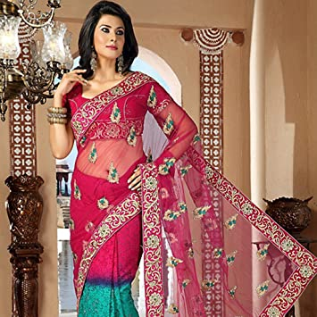 877ebf18be83 Amazon.com  Party Wear Saree Designs For Indian Girls Vol 3 ...