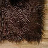 Carvapet Luxury Soft Faux Sheepskin Fur Area Rugs
