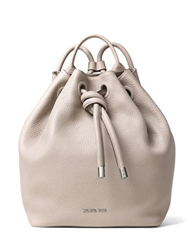 7e16f80bb322 MICHAEL Michael Kors Dalia Large Leather Backpack in Cement: Amazon ...