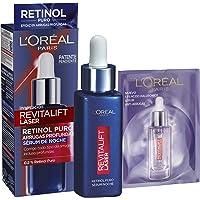 L'Oreal Paris Dermo Expertise Sérum de Noche Revitalift Laser con Retinol Puro, Cuidado Antiedad, Corrige Arrugas…