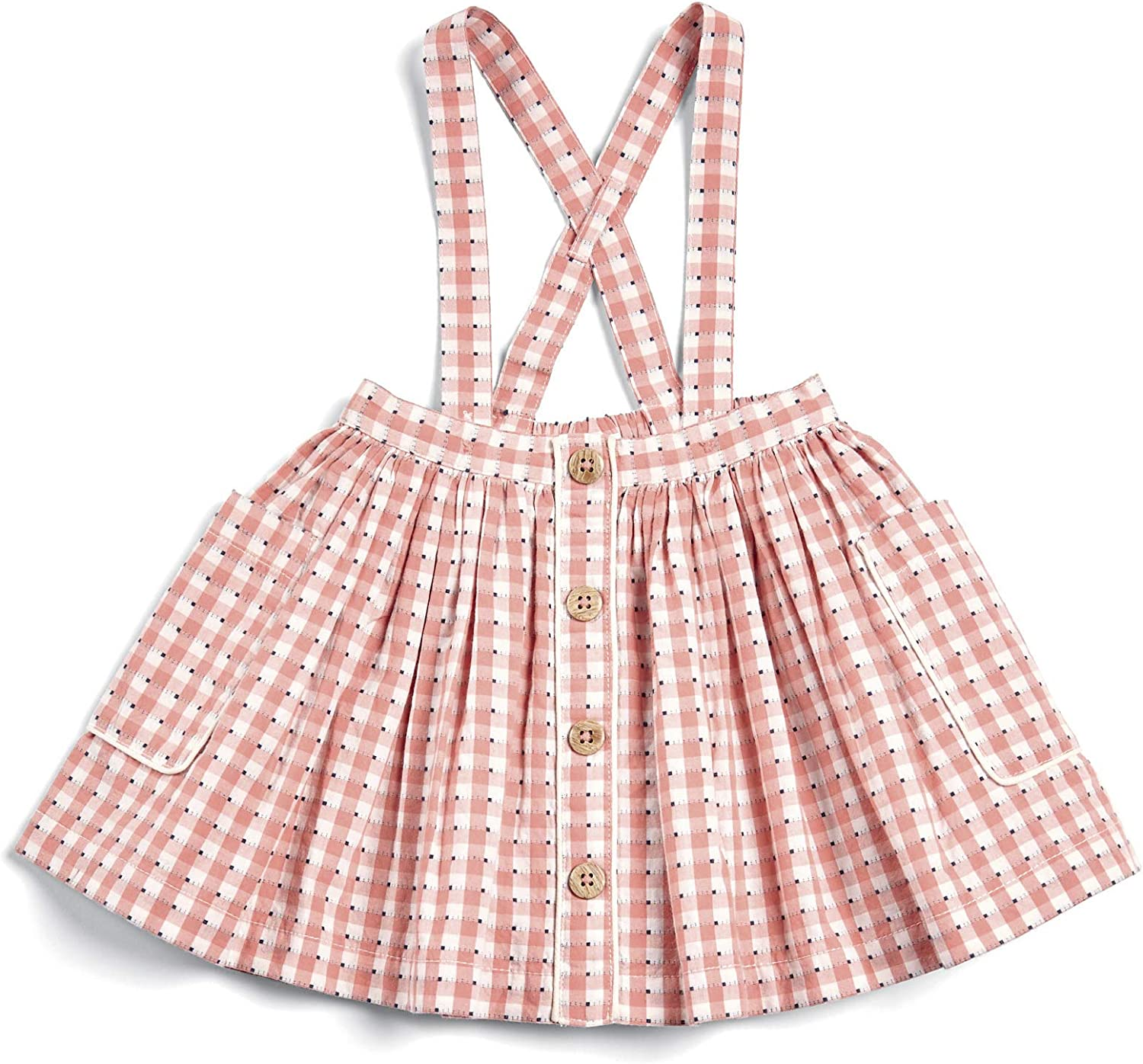 Mamas /& Papas Baby Girls Gingham Skirt