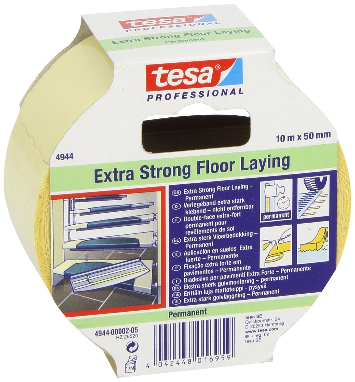 Tesa - Cinta tejido super power 10x50 TESA TAPE M80656