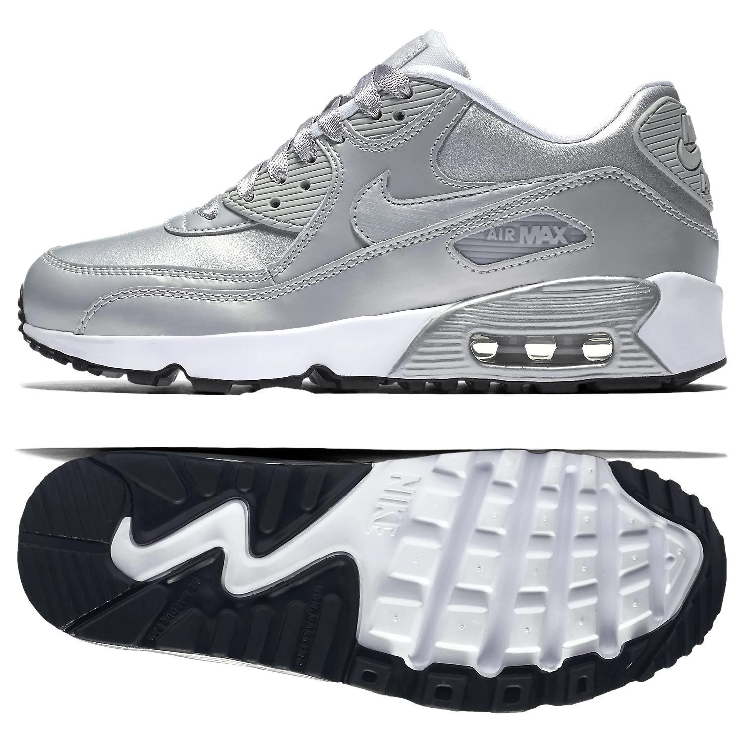 3cee629fce3d60 Galleon - Nike Air Max 90 LTR GS Running Shoe (6 M US Big Kid