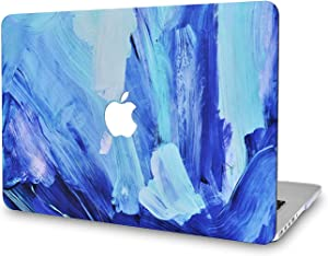 LuvCase Laptop Case for MacBook Air 13 Inch(2020/2019/2018) A2179/A1932 Retina Display (Touch ID)RubberizedPlasticHardShellCover (Oil Paint 5)
