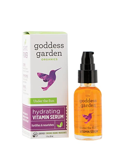 Goddess Garden Organics Under The Sun Pre-Sunscreen Serum, 1 Ounce