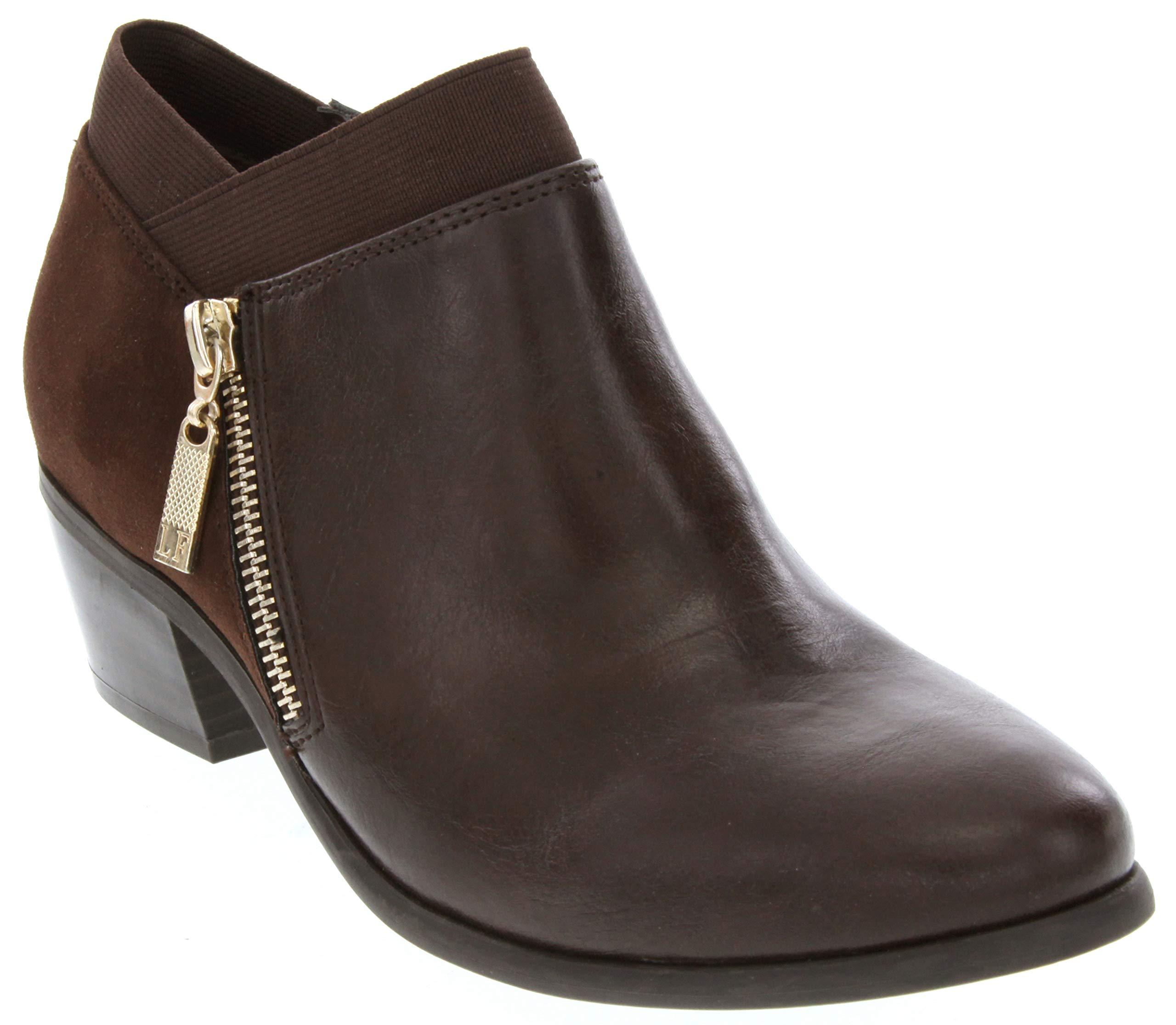 London Fog Womens Harper Dress Boot Brown 11