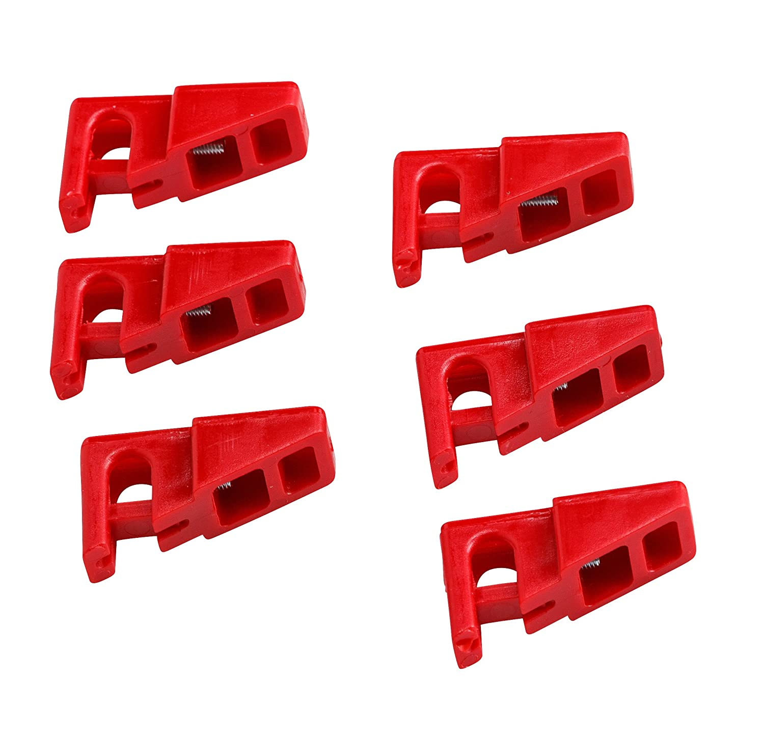 Brady BL04-6 Prinzing No Hole Breaker Lockout 6 Pack