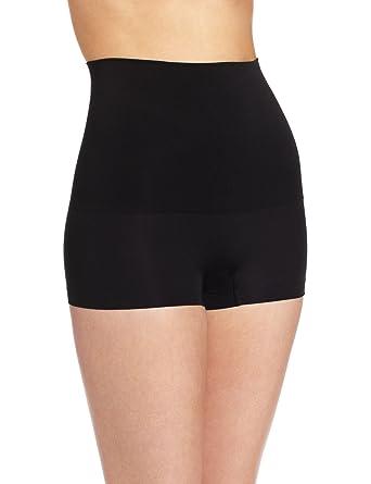 80b04eadaa Flexees Maidenform Women s Shapewear Seamless Hi-Waist Boyshort at Amazon  Women s Clothing store  Thigh Shapewear