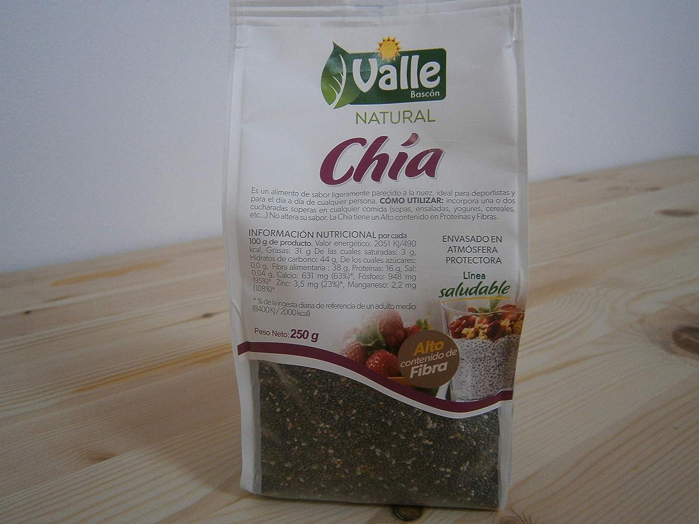 CHIA 250 GR: Amazon.es: Alimentación y bebidas