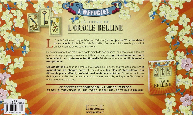 92bc63df244038 Grimaud - Coffret Oracle de Belline - Livre + Jeu - Cartomancie  Collectif   Amazon.fr  Jeux et Jouets