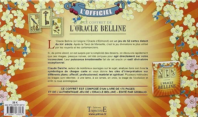 Grimaud - Coffret Oracle de Belline - Livre + Jeu - Cartomancie  Collectif   Amazon.fr  Jeux et Jouets a72ebf8de0ca