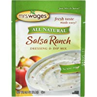 Mrs. Wages Salsa Ranch Dressing and Dip Mix (VALUE PACK of 12)