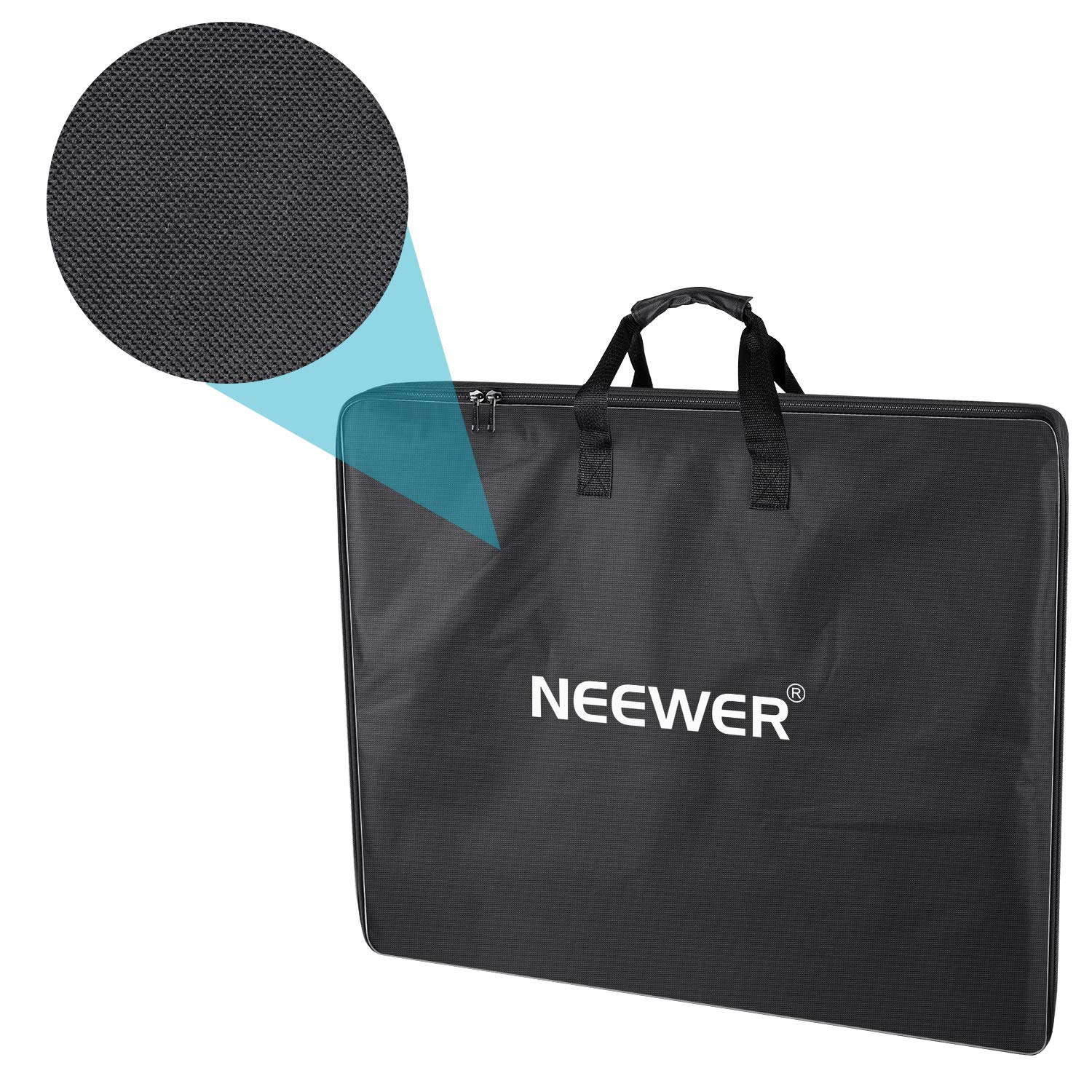 Neewer Enlarged Carrying Bag for 18 inches Ring Light, Light Stand, Accessories - 29.5x23.6 inches/75x60 Centimeters Protective Case, Durable Nylon,Light Weight (Black) by Neewer (Image #7)