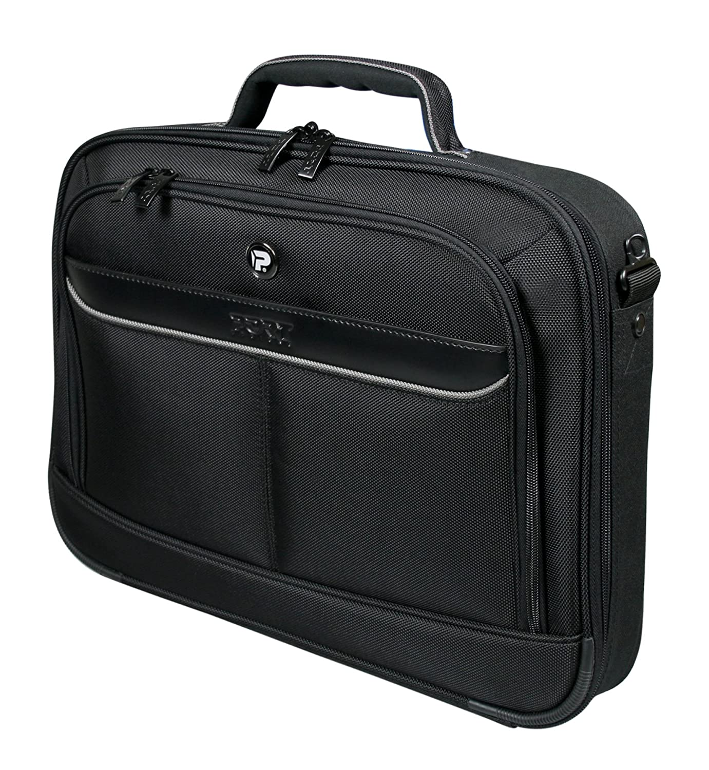 b6b7aad979 Port Designs Manhattan II Series Clamshell Laptop Bag for Laptop Up to 17.3  inch  Amazon.co.uk  Computers   Accessories