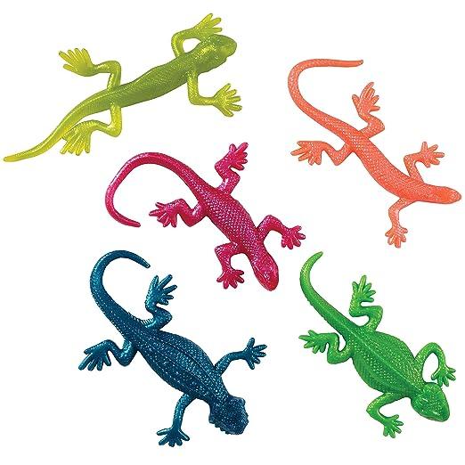 Amazon.com: Stretchy Lizard Toys, 1 Dozen, Assorted Colors: Industrial &  Scientific
