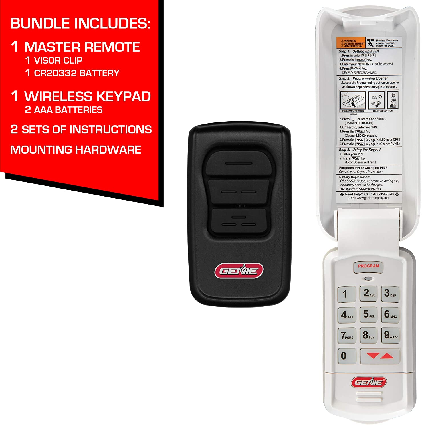 How To Reset A Genie Intellicode Garage Door Opener Keypad