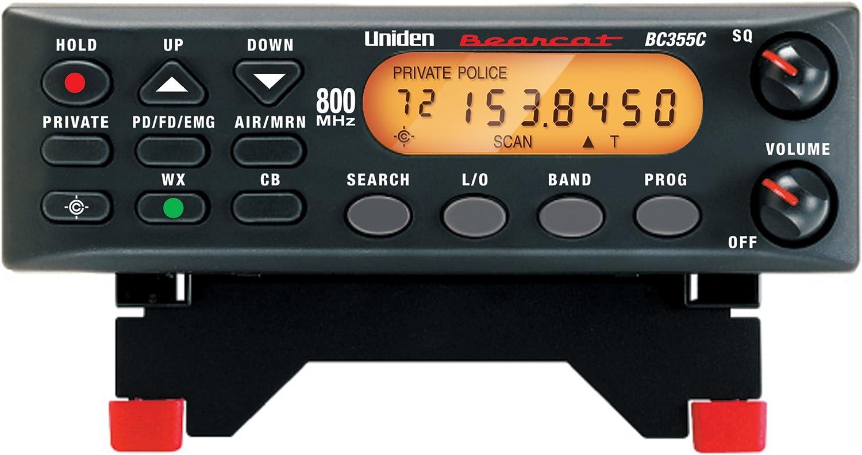 Uniden BC355N 800 MHz 300-Channel Base/Mobile scanner