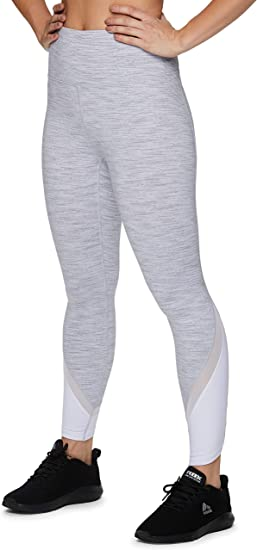 RBX Active Womens Super Soft Peached Space Dye Full Length Workout Running Yoga Legging