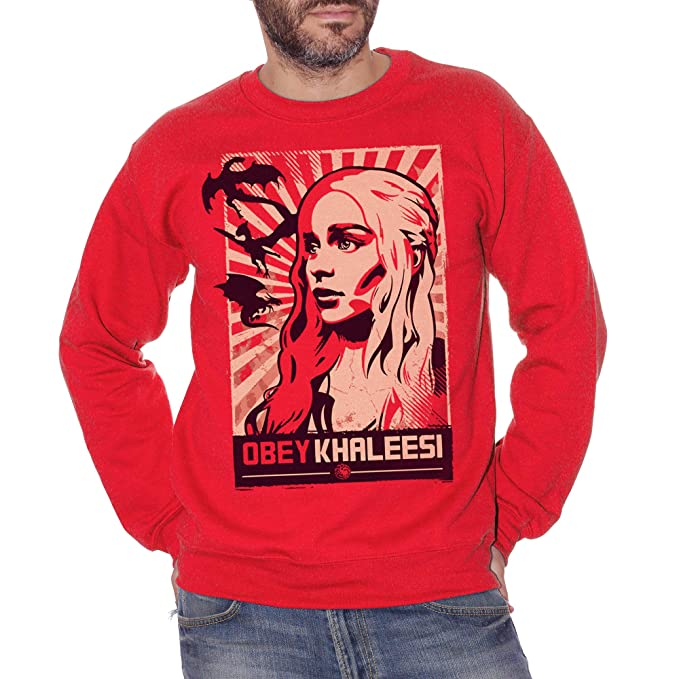 Film Choose ur Color Canotta Obey Khaleesi Games of Thrones