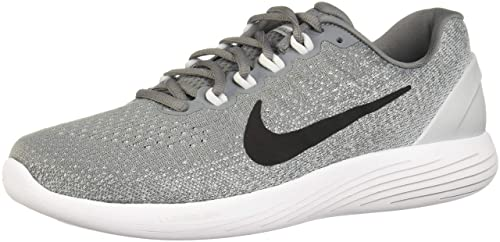 2b5626a2faa Image Unavailable. Image not available for. Colour  Nike Men s Lunarglide 9  Cool Grey Black Pure Platinum Running Shoe ...