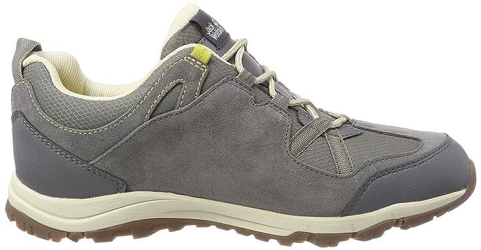 Wolfskin Senza W Amazon Low Texapore Wasserdicht Jack Rocksand Tacco shoes Grigio 0nw8OPk