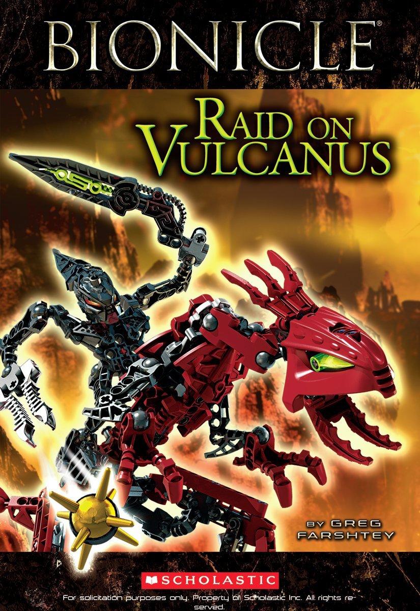 Bionicle Super Chapter: Raid on Vulcanus (Bionicle Super Chapter Book) pdf epub