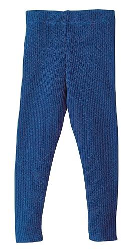 c63511305 Amazon.com: Disana 100% Organic Merino Wool Knitted Leggings Made in Germany  (6-8 Years, Navy): Clothing