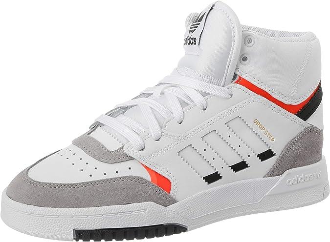 adidas Drop Step J, Zapatillas de Running Unisex Niños, Multicolor (FTWR White/Light Granite/Solar Red Ee8755), 36 EU: Amazon.es: Zapatos y complementos