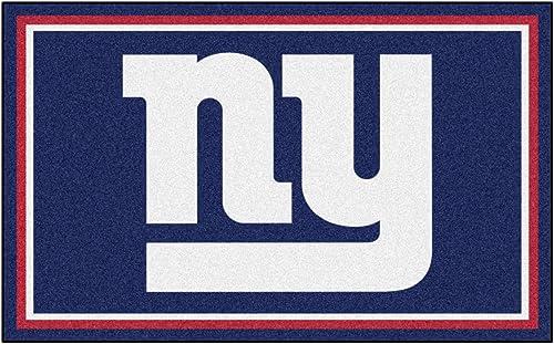 FANMATS – 6594 NFL New York Giants Nylon Face 4X6 Plush Rug