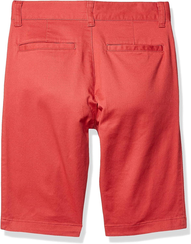 Essentials Flat Front Uniform Chino Short Hombre