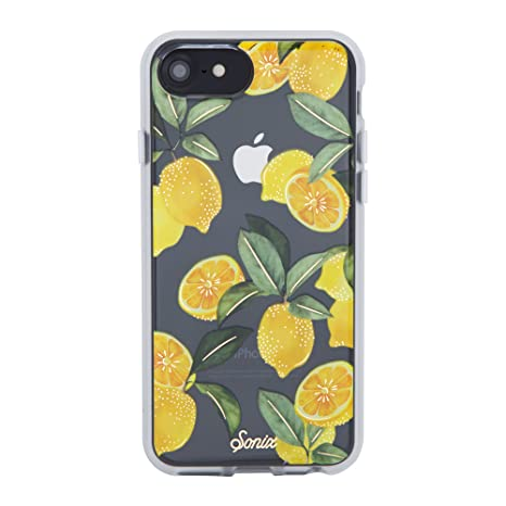 the latest 665cd c2d8b Sonix Lemon Zest Cell Phone Case [Military Drop Test Certified] Sonix Clear  Coat Series for Apple iPhone 6, 6s, 7, 8