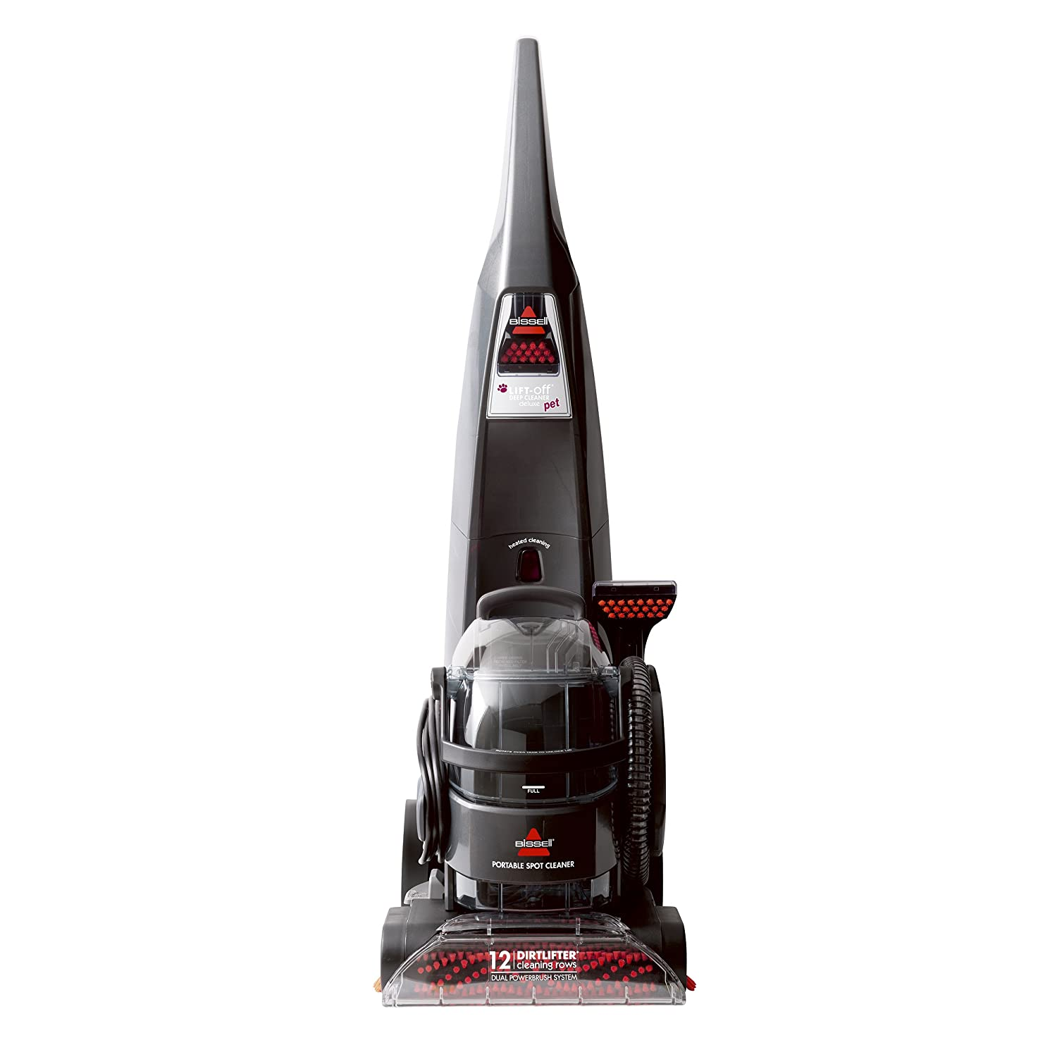 Amazon.com: BISSELL DeepClean Lift-Off Deluxe Upright Pet Carpet Cleaner  Machine, 24A4: Home & Kitchen