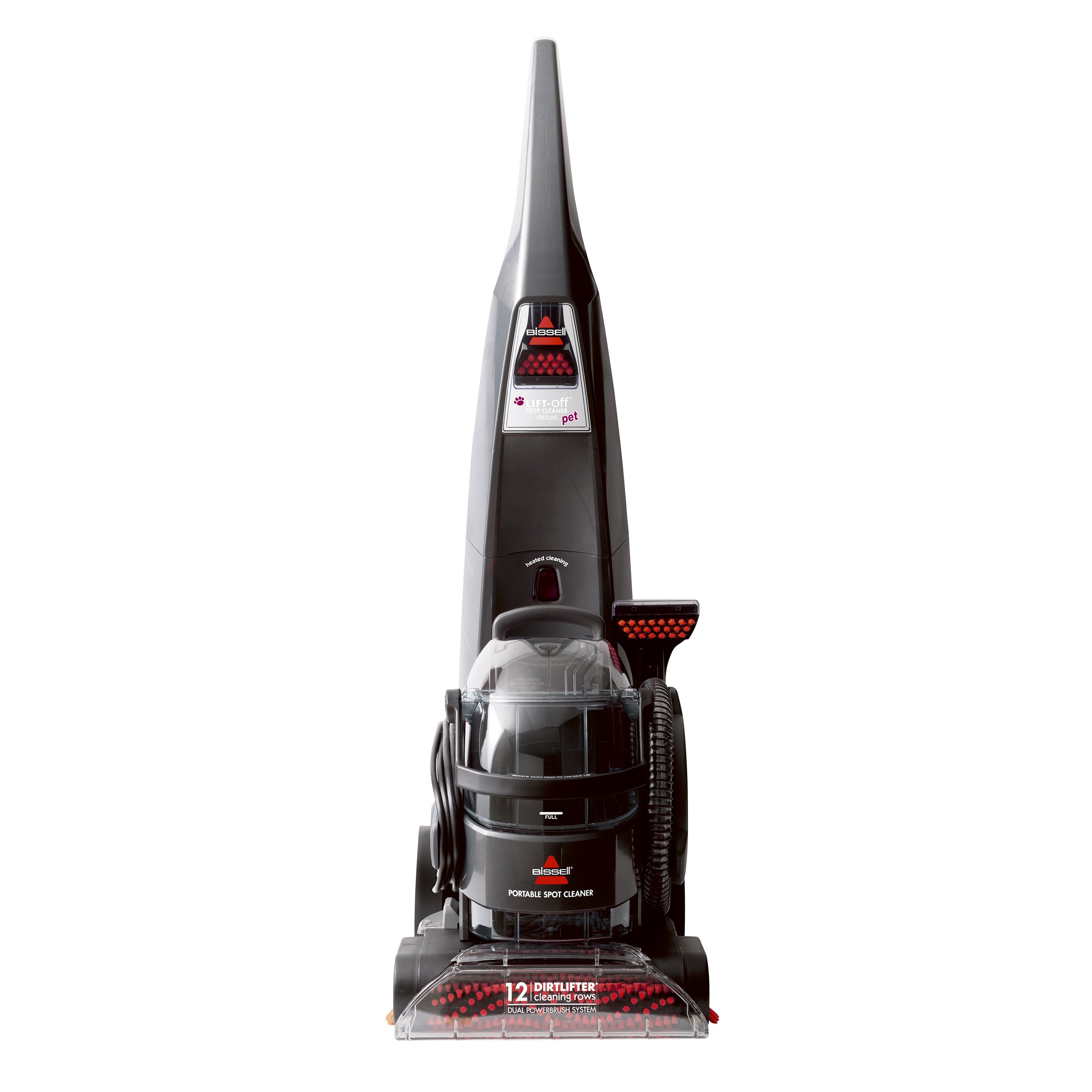 BISSELL DeepClean Lift-Off Deluxe Upright Pet Carpet Cleaner Machine, 24A4 by Bissell