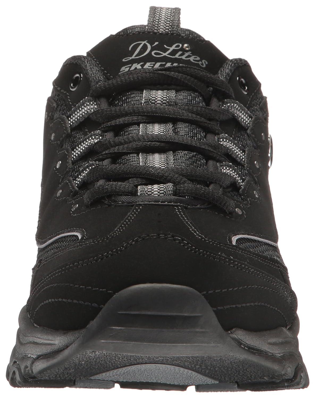 Skechers Damen D 'Lites mich Zeit Fashion Sneaker Sneaker Fashion Schwarz 00b1f8