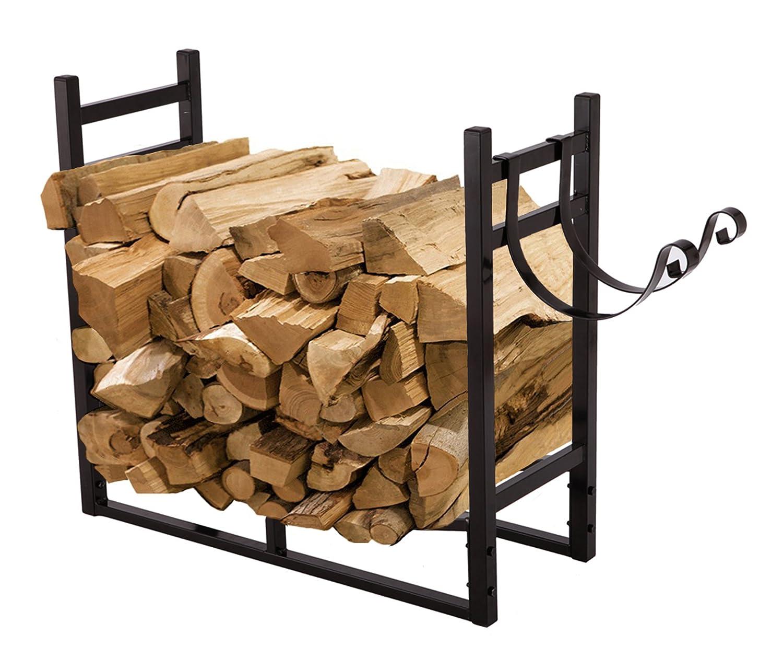 PAZINGA 20-Feet Firewood Rack