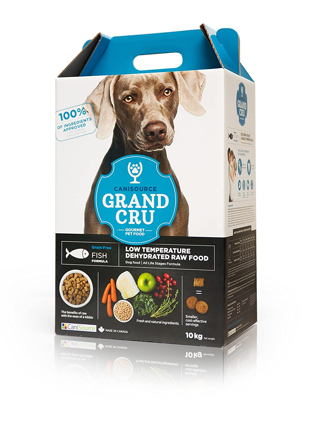 10 kg CaniSource Dog Food Grain Free Fish Formulation, 10Kg (Packaging May Vary)