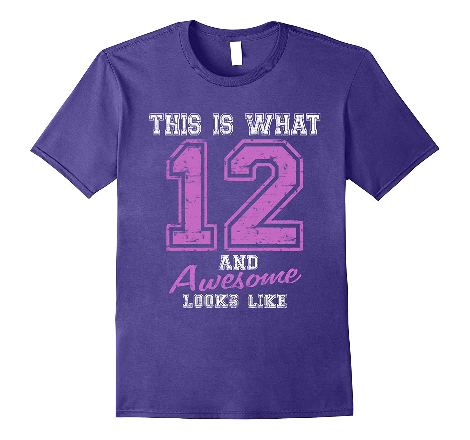 12th Birthday T shirts For Girls Gift Ideas Girl Outfit-BN