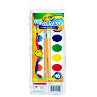Crayola 16 Ct Washable Watercolors