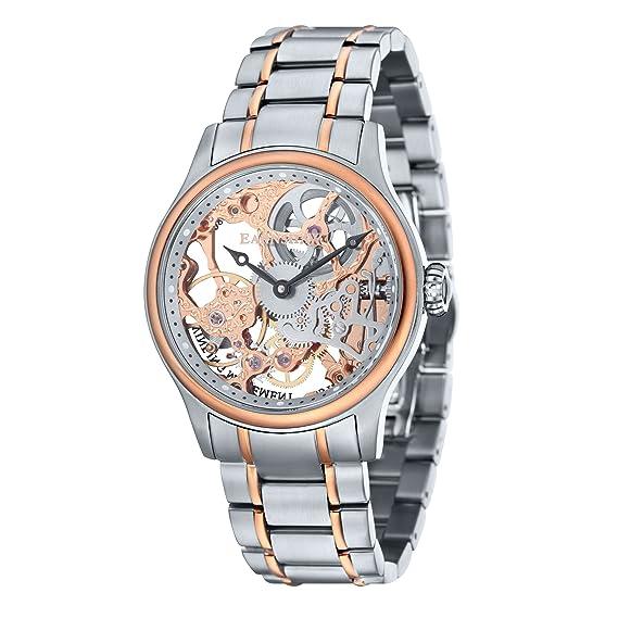 Thomas Earnshaw Reloj Analogico para Hombre de Mecánico con Correa en Acero Inoxidable ES-8049