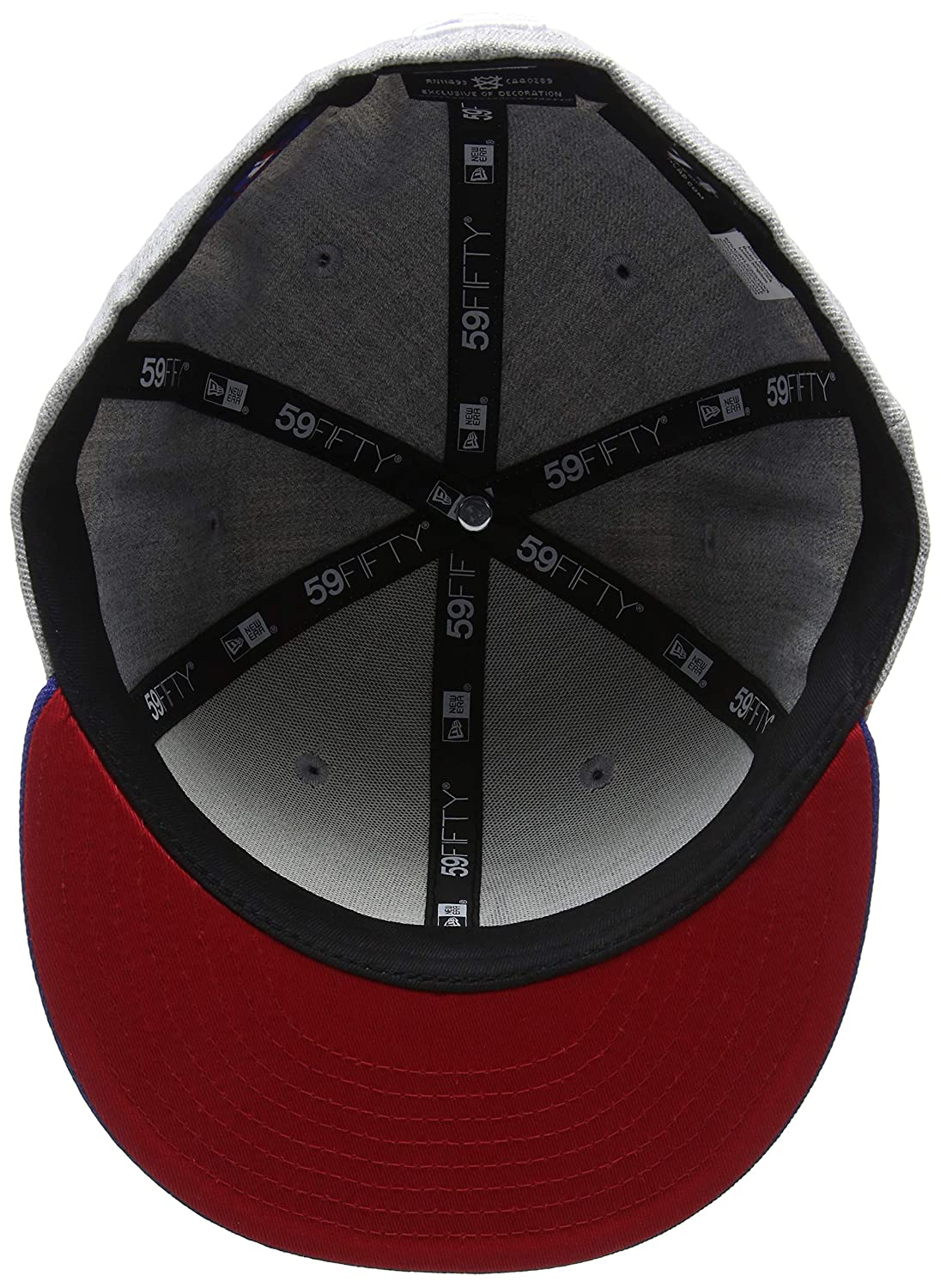 New Era Heathr Crsp 2 Fit Chicub Hgrotcotc Cap Mixte