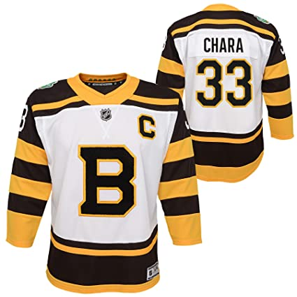 427cb4033 Outerstuff Boston Bruins  33 Zdeno Chara Youth Winter Classic Premier Jersey  (Youth S