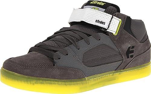 Etnies Number-Mid, Zapatillas de Skateboarding para Hombre, Gris-Grau (Grey/Green 375), 47 EU: Amazon.es: Zapatos y complementos