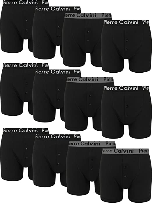 FM London Mens Fitted Boxer Shorts